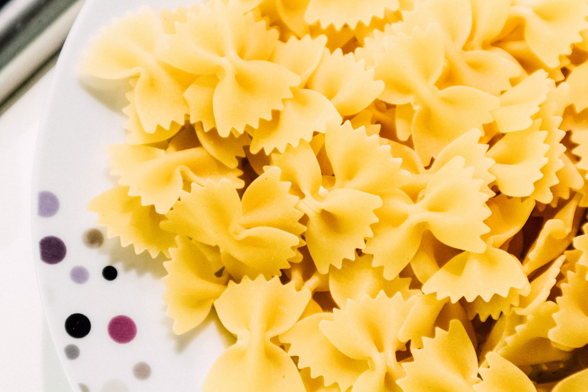 yellow ribbon pasta